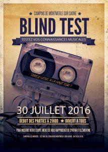 Blind test animation