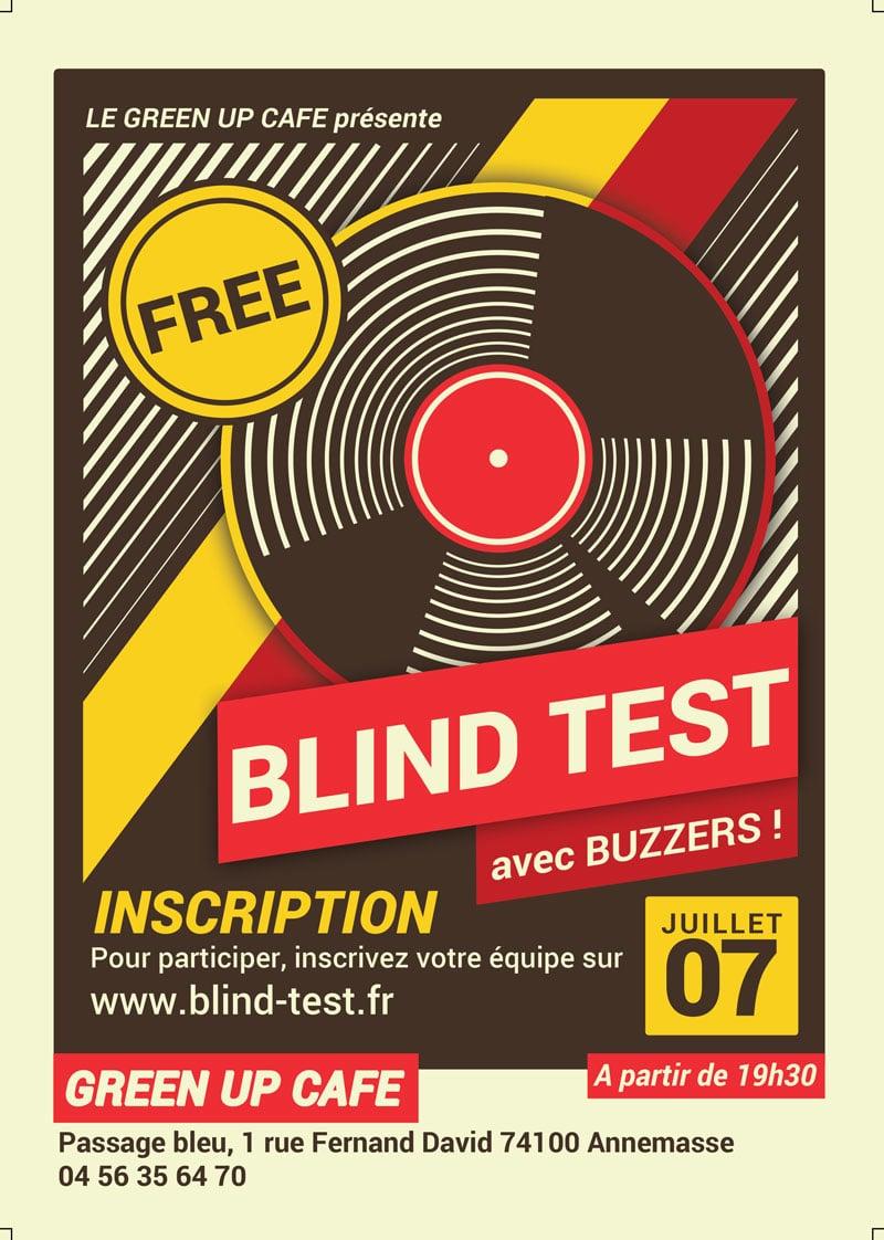 Blind test annemasse