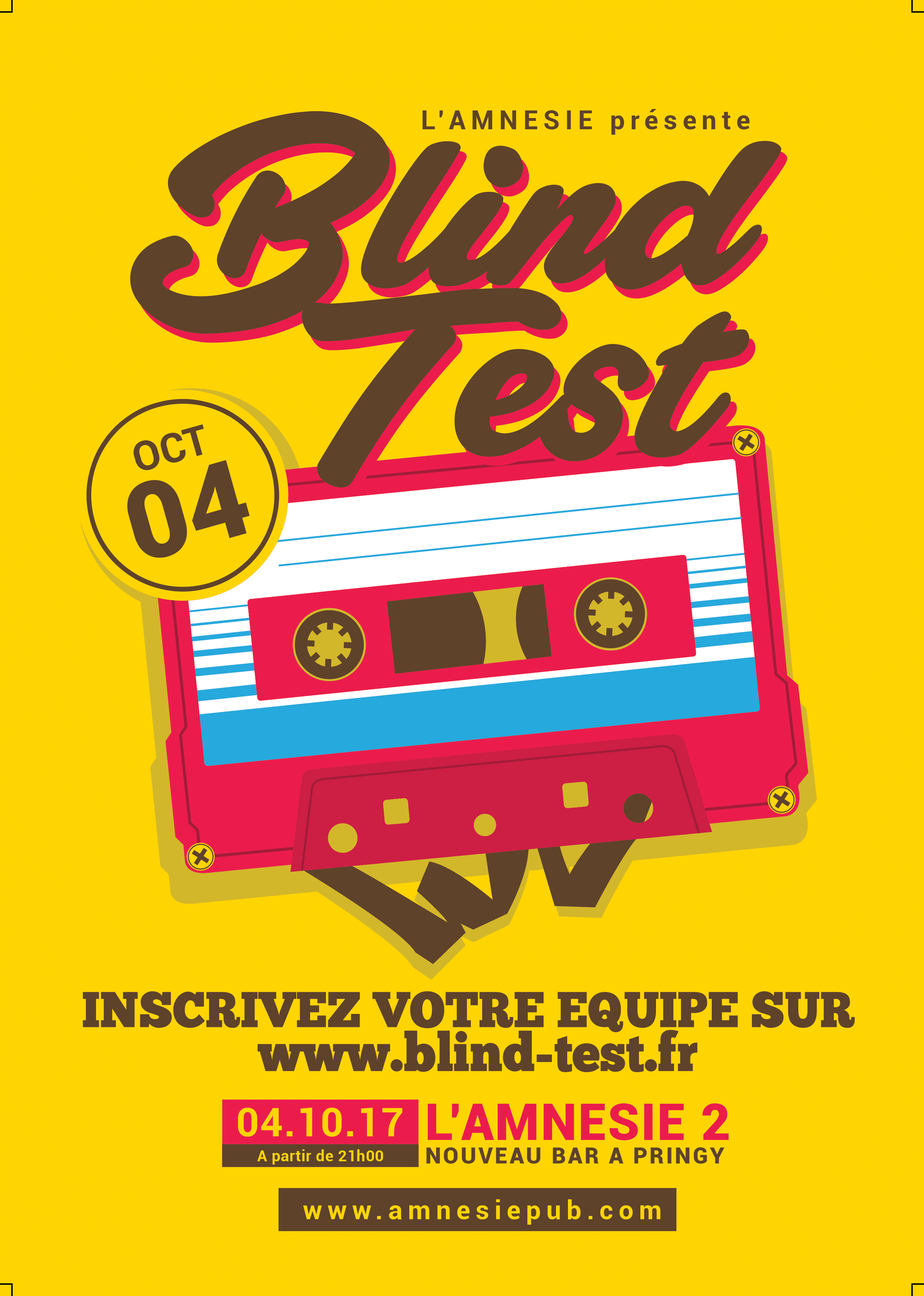 Blind test Pringy Annecy