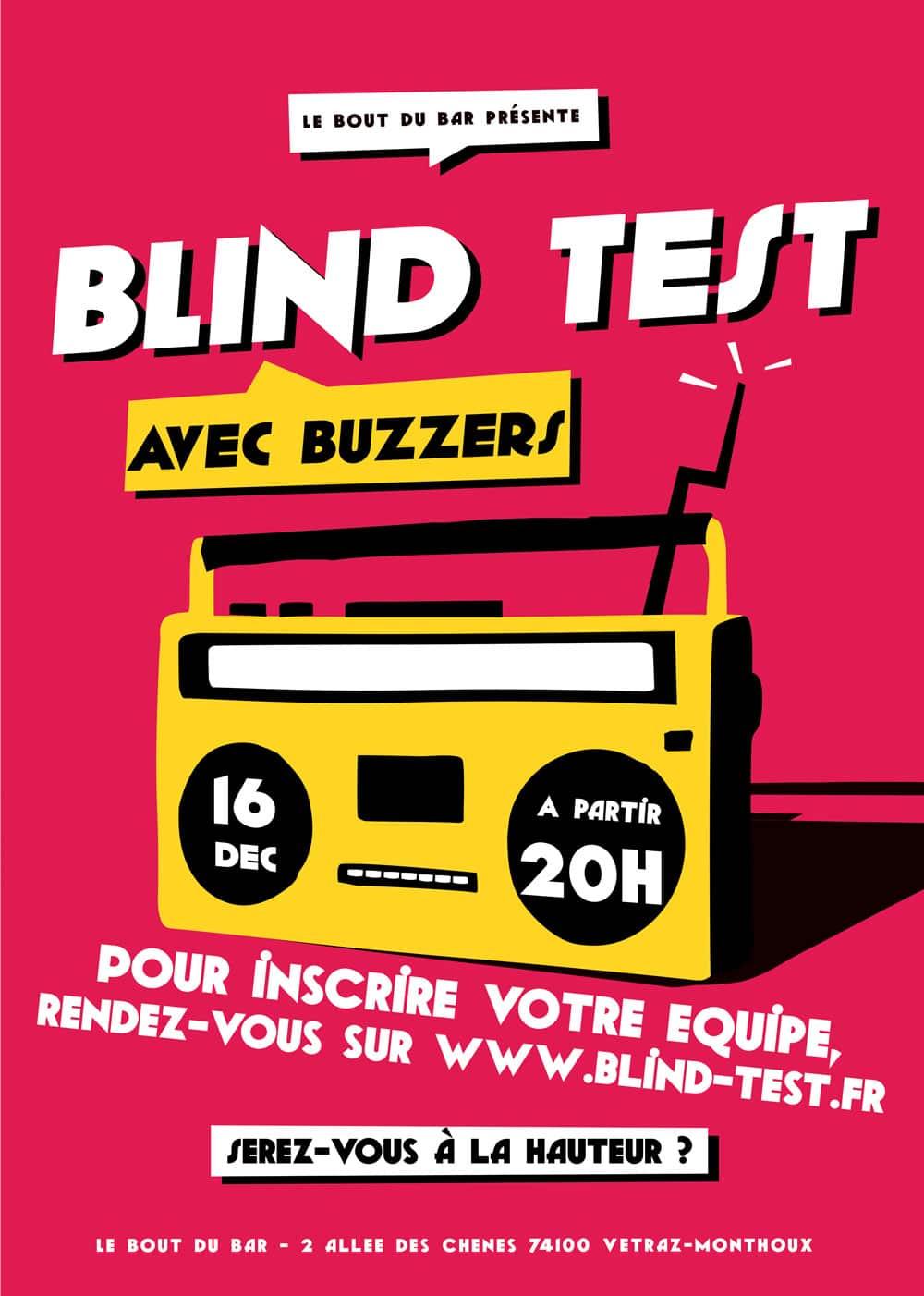Le Bout du Bar Vetraz-Monthoux blind test et quizz musical