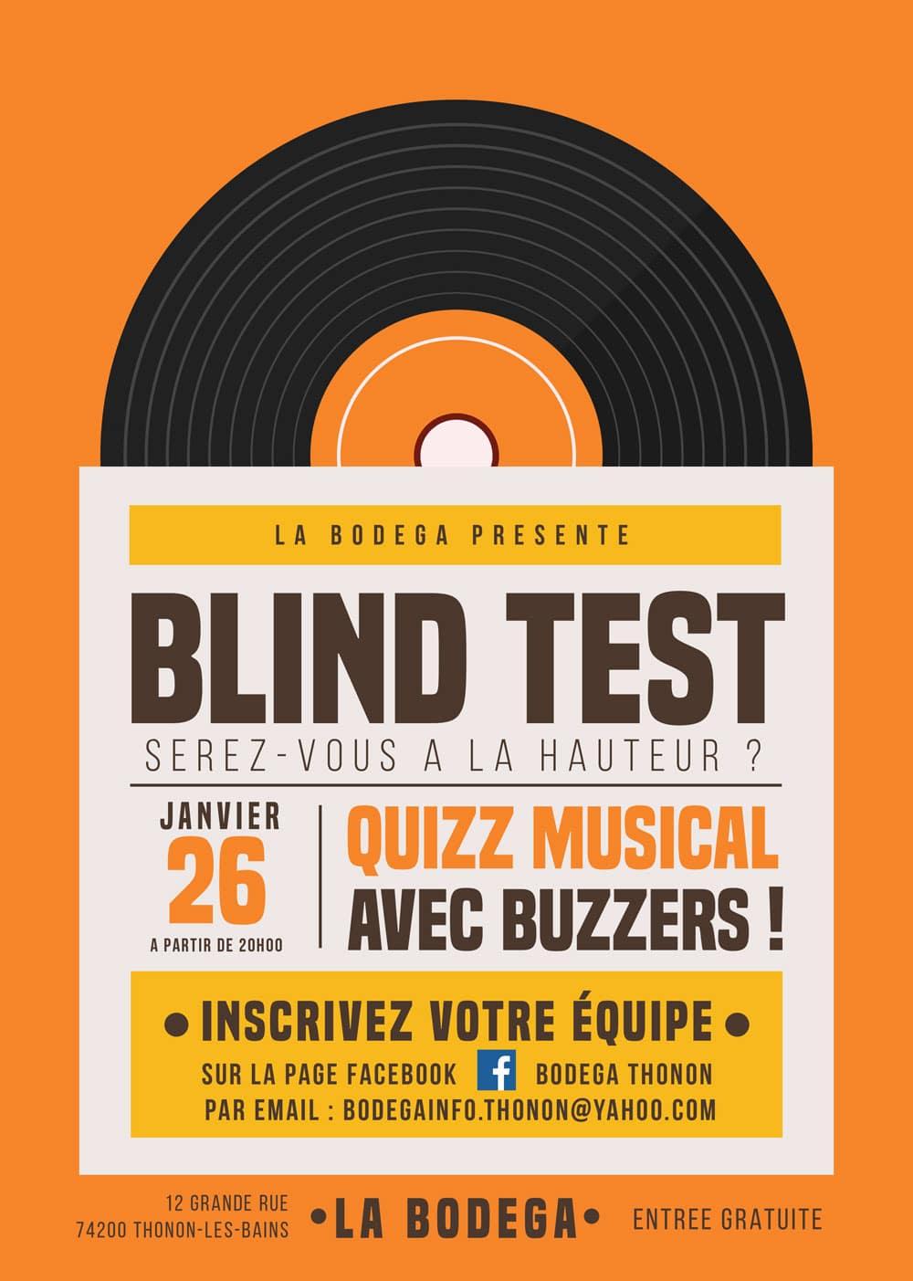 Quizz musical Thonon-les-Bains