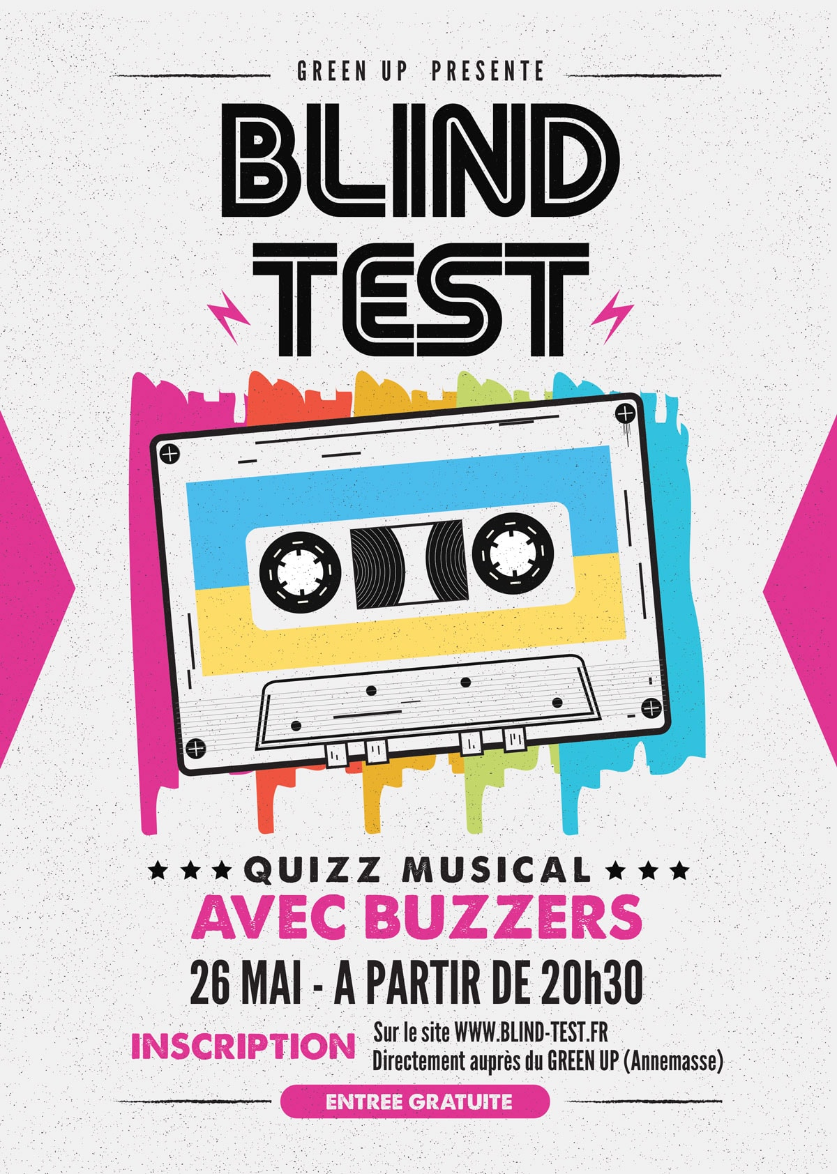 Blind test musical annemasse